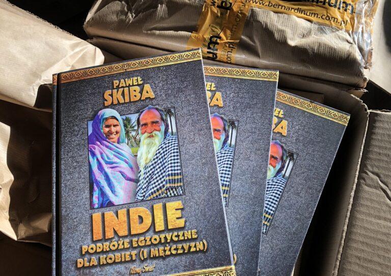 Paweł Skiba książki Tajlandia Indie