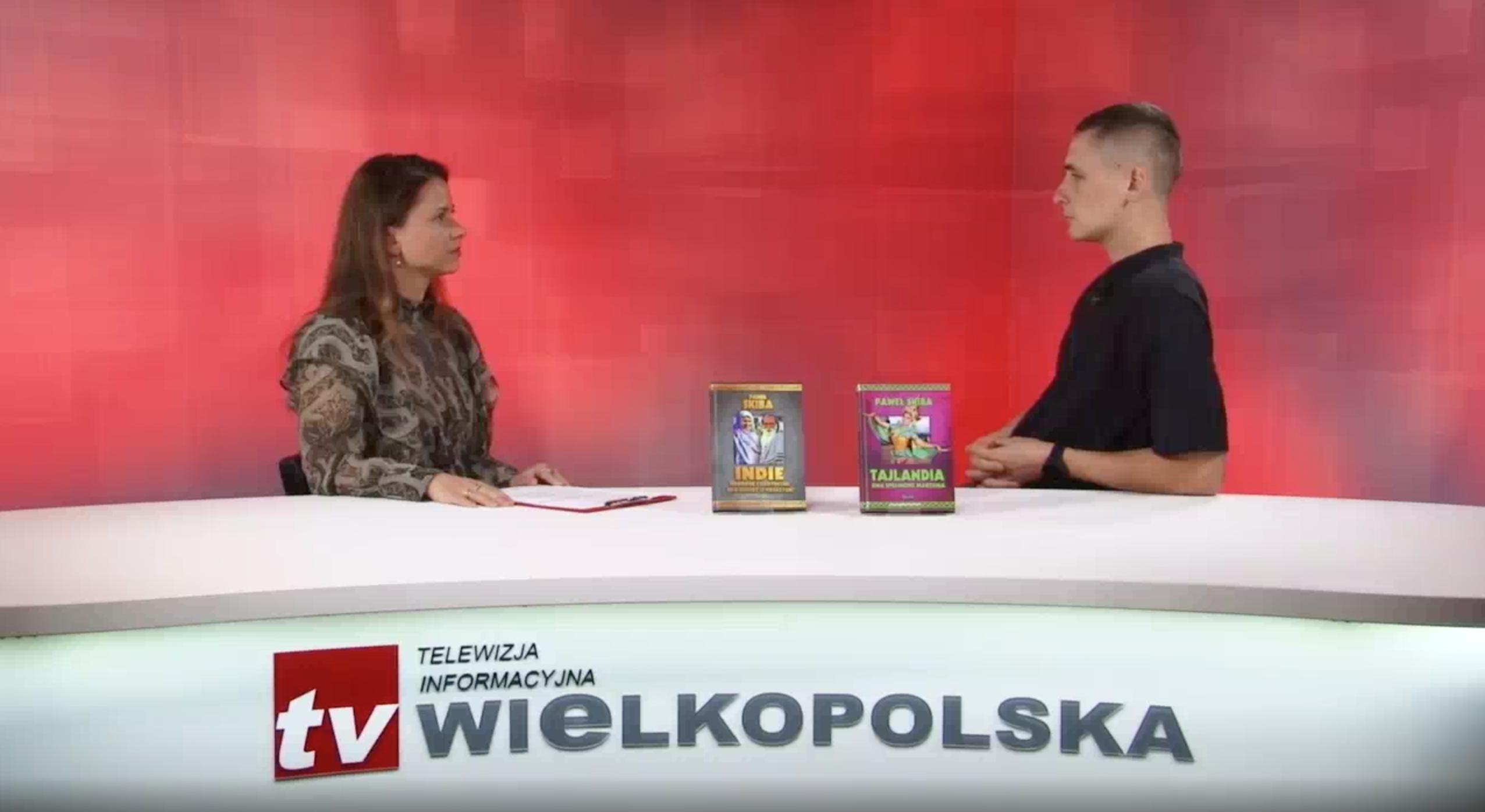 TV Wielkopolska -W Cztery Oczy - Paweł Skiba